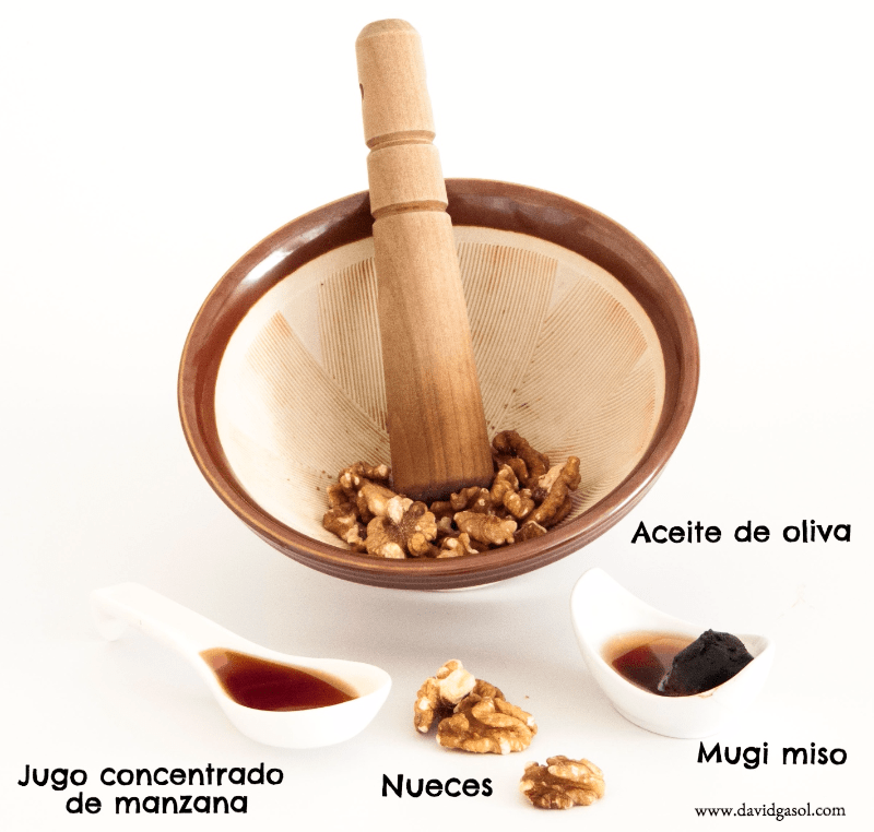 Vinagreta de nueces